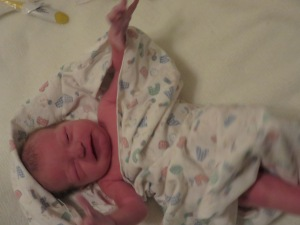 Nicholas right after being born!